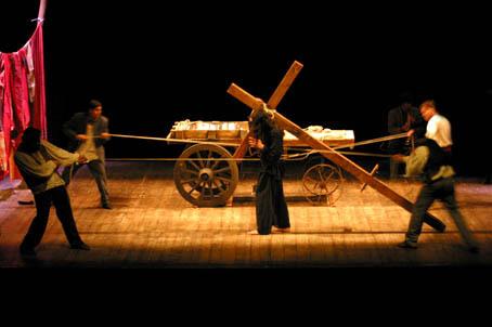 Cristo Gitano in scena