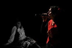 Fred e Fiore in scena